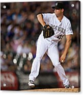Arizona Diamondbacks V Colorado Rockies Acrylic Print
