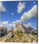 Cinque Torri, Dolomites - Italy Acrylic Print