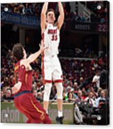 Miami Heat V Cleveland Cavaliers Acrylic Print
