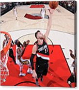 New Orleans Pelicans V Portland Trail Acrylic Print