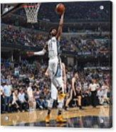 San Antonio Spurs V Memphis Grizzlies - Acrylic Print