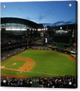San Francisco Giants V Arizona Acrylic Print