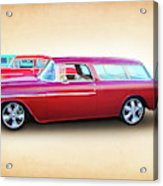 3 - 1955 Chevy's Acrylic Print