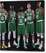 2018-19 Boston Celtics Media Day Acrylic Print