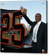 Barry Bonds San Francisco Giants Number Acrylic Print