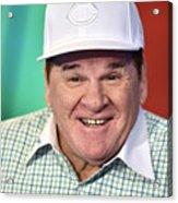 Baseball Legend Pete Rose Visits Stuart 3 Acrylic Print