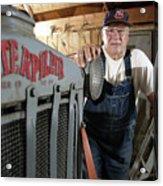Baseball - Pitcher Bob Feller 3 Acrylic Print