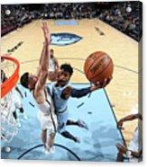 Brooklyn Nets V Memphis Grizzlies Acrylic Print