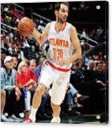 Charlotte Hornets V Atlanta Hawks Acrylic Print