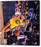 Charlotte Hornets V Golden State Acrylic Print
