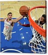 Cleveland Cavaliers V Philadelphia 76ers Acrylic Print
