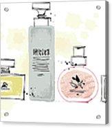 Cosmetics Acrylic Print