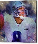 Dallas Cowboys.troy Kenneth Aikman Acrylic Print