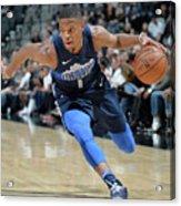 Dallas Mavericks V San Antonio Spurs Acrylic Print