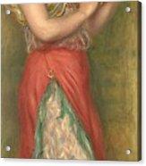 Dancing Girl With Tambourine  Acrylic Print