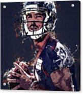 Denver Broncos.case Keenum. Acrylic Print