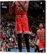 Denver Nuggets V Chicago Bulls Acrylic Print