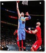 Denver Nuggets V Washington Wizards Acrylic Print