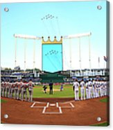 Division Series - Los Angeles Angels Of Acrylic Print