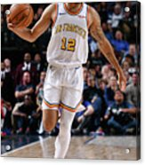 Golden State Warriors V Dallas Mavericks Acrylic Print