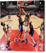 Golden State Warriors V La Clippers Acrylic Print
