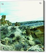 High Desert Landscape Acrylic Print