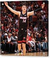 Houston Rockets V Miami Heat Acrylic Print