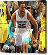 Indiana Pacers V Charlotte Hornets Acrylic Print