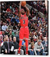 Indiana Pacers V Chicago Bulls Acrylic Print