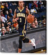 Indiana Pacers V Golden State Warriors Acrylic Print