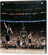 La Clippers V Toronto Raptors Acrylic Print