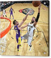Los Angeles Lakers V New Orleans Acrylic Print