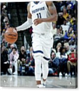Memphis Grizzlies V Indiana Pacers Acrylic Print
