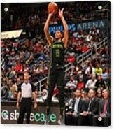 Miami Heat V Atlanta Hawks Acrylic Print
