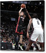 Miami Heat V Brooklyn Nets Acrylic Print