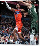 Milwaukee Bucks V Oklahoma City Thunder Acrylic Print