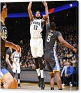 Minnesota Timberwolves V Golden State Acrylic Print