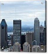 Montreal Skyline Acrylic Print
