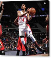 New Orleans Pelicans V Detroit Pistons Acrylic Print