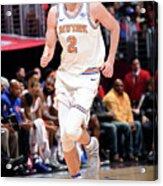New York Knicks V La Clippers Acrylic Print