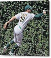Oakland Athletics V Chicago Cubs 3 Acrylic Print