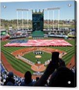Oakland Athletics V Kansas City Royals Acrylic Print