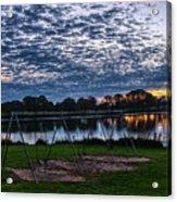 Obear Park Sunset Acrylic Print
