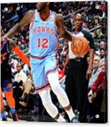 Oklahoma City Thunder V Atlanta Hawks Acrylic Print