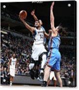 Oklahoma City Thunder V Minnesota Acrylic Print