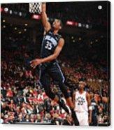 Orlando Magic V Toronto Raptors - Game Acrylic Print