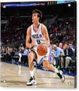 Philadelphia 76ers V Utah Jazz Acrylic Print