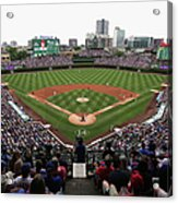 Philadelphia Phillies V Chicago Cubs Acrylic Print
