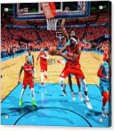 Portland Trail Blazers V Oklahoma City Acrylic Print