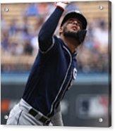 San Diego Padres V Los Angeles Dodgers Acrylic Print